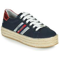Schoenen Dames Lage sneakers Dockers by Gerli 46GV202-660 Blauw