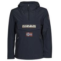 Textiel Heren Parka jassen Napapijri RAINFOREST SUMMER POCKET Marine