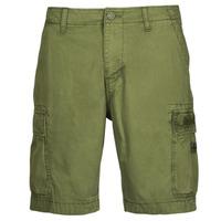 Textiel Heren Korte broeken / Bermuda's Napapijri NOSTRAN Groen