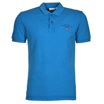 Textiel Heren Polo's korte mouwen Napapijri ELBAS 4 Blauw