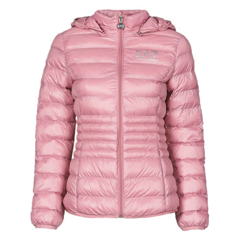 Textiel Dames Dons gevoerde jassen Emporio Armani EA7 8NTB23-TN12Z-1436 Roze