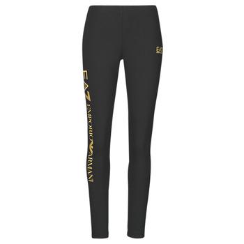 Textiel Dames Leggings Emporio Armani EA7 8NTP63-TJ01Z-0200 Zwart / Goud