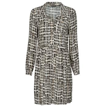 Textiel Dames Korte jurken One Step RANDA Beige / Zwart