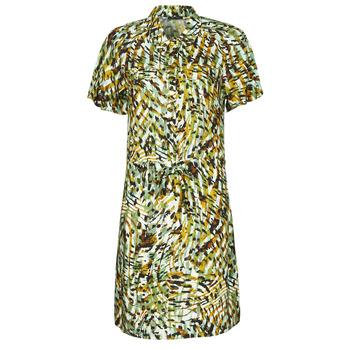 Textiel Dames Korte jurken One Step RAINBOW Groen