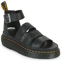 Schoenen Dames Sandalen / Open schoenen Dr Martens CLARISSA II QUAD Zwart
