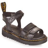 Schoenen Meisjes Sandalen / Open schoenen Dr Martens KLAIRE J Zwart