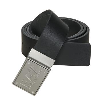Accessoires Riemen Emporio Armani EA7 TRAIN CORE ID U BELT Zwart / Reversible / Grijs