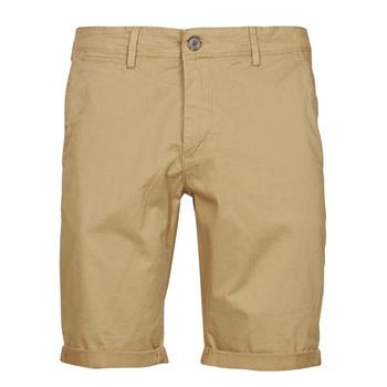 Textiel Heren Korte broeken / Bermuda's Teddy Smith SHORT CHINO Beige