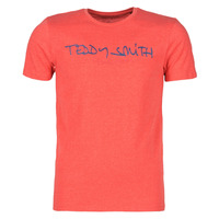 Textiel Heren T-shirts korte mouwen Teddy Smith TICLASS Rood