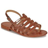Schoenen Dames Sandalen / Open schoenen Les Tropéziennes par M Belarbi HERISSON TAN