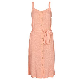 Textiel Dames Korte jurken Rip Curl TALLOWS SPOT MIDI Peche