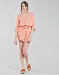 Textiel Dames Jumpsuites / Tuinbroeken Rip Curl TALLOWS SPOT ROMPER Peche