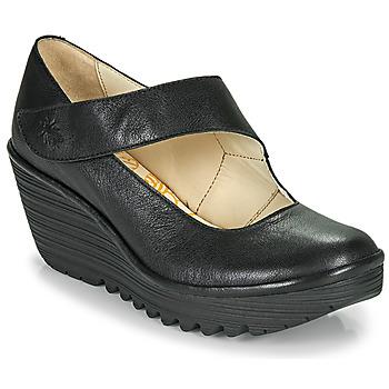 Schoenen Dames pumps Fly London YASI Zwart