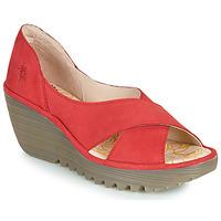 Schoenen Dames Sandalen / Open schoenen Fly London YOMA Rood