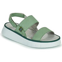 Schoenen Dames Sandalen / Open schoenen Fly London CURA Groen