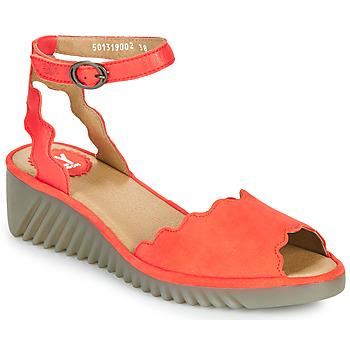 Schoenen Dames Sandalen / Open schoenen Fly London LUME Rood