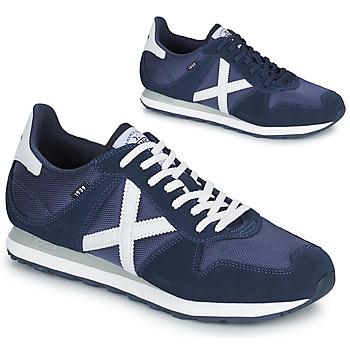 Schoenen Heren Lage sneakers Munich MASSANA 433 Blauw