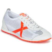 Schoenen Dames Lage sneakers Munich OSAKA 456 Wit / Orange