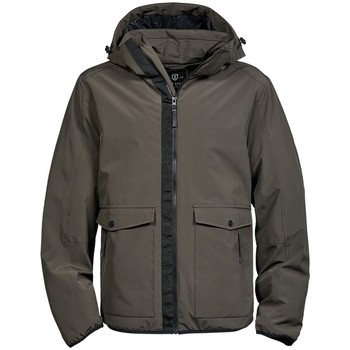 Textiel Heren Parka jassen Tee Jays TJ9604 Donkere Olijf