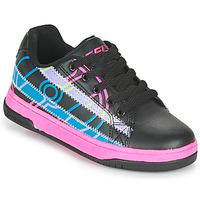 Schoenen Meisjes Schoenen met wieltjes Heelys SPLINT Zwart / Multicolour