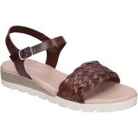Schoenen Dames Sandalen / Open schoenen Rizzoli Sandali Pelle Marrone
