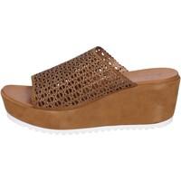 Schoenen Dames Sandalen / Open schoenen Femme Plus BK620 Marron