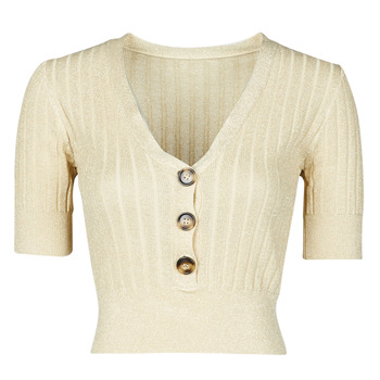 Textiel Dames Truien Moony Mood NAME Beige / Goud