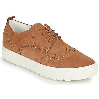 Schoenen Dames Lage sneakers Geox D BREEDA Brown