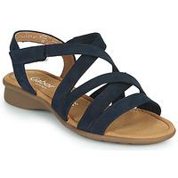 Schoenen Dames Sandalen / Open schoenen Gabor 6606636 Blauw