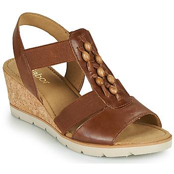 Schoenen Dames Sandalen / Open schoenen Gabor 6575024 Brown