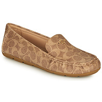 Schoenen Dames Mocassins Coach MARLEY DRIVER Brown