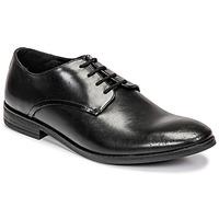 Schoenen Heren Derby Clarks Stanford Walk  zwart
