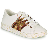 Schoenen Dames Lage sneakers Desigual COSMIC EXOTIC LETTERING Wit