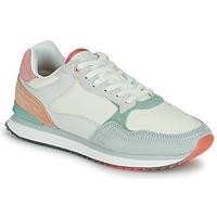 Schoenen Dames Lage sneakers HOFF ROME Wit / Blauw / Roze