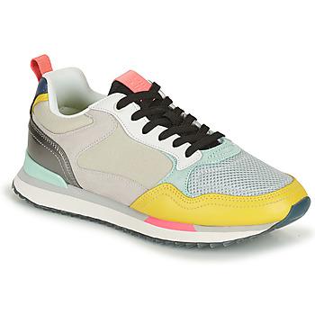Schoenen Dames Lage sneakers HOFF MIAMI Wit / Geel