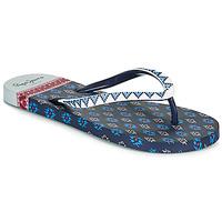 Schoenen Dames Slippers Pepe jeans RAKE DANI Marine