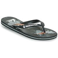 Schoenen Heren Slippers Quiksilver MOLOKAI EVERYDAY Zwart