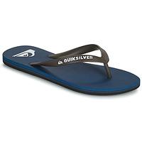 Schoenen Heren Slippers Quiksilver MOLOKAI Marine