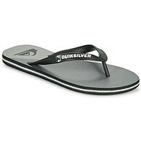 Schoenen Heren Slippers Quiksilver MOLOKAI NEW WAVE Zwart / Grijs
