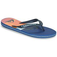 Schoenen Heren Slippers Quiksilver MOLOKAI PANEL Blauw / Orange / Zwart