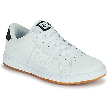 Schoenen Jongens Skateschoenen DC Shoes STRIKER B SHOE WG6 Wit / Gum