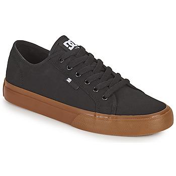 Schoenen Heren Skateschoenen DC Shoes MANUAL Zwart / Gum