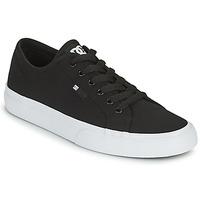 Schoenen Heren Skateschoenen DC Shoes MANUAL Zwart / Wit