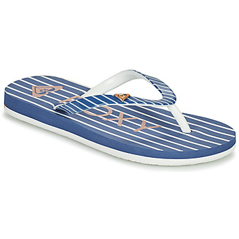 Schoenen Meisjes Slippers Roxy PEBBLES VII G Marine
