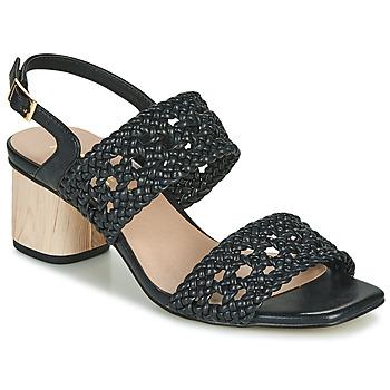Schoenen Dames Sandalen / Open schoenen Ravel KIMIA Zwart