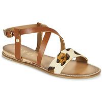 Schoenen Dames Sandalen / Open schoenen Ravel ASPEN Brown / Leopard