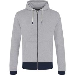 Textiel Heren Sweaters / Sweatshirts Ecologie EA051 Heide/Navy