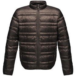 Textiel Heren Dons gevoerde jassen Regatta RG119 Zwart/Zwart