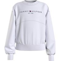 Textiel Meisjes Sweaters / Sweatshirts Tommy Hilfiger THUBOR Wit