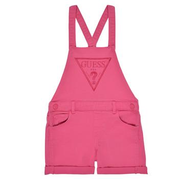 Textiel Meisjes Jumpsuites / Tuinbroeken Guess K1GK10-WB5Z0-JLPK Roze
